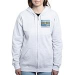 Santa Rosa, California Women's Zip Hoodie