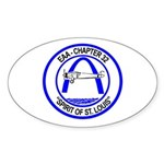 Oval Sticker / Color