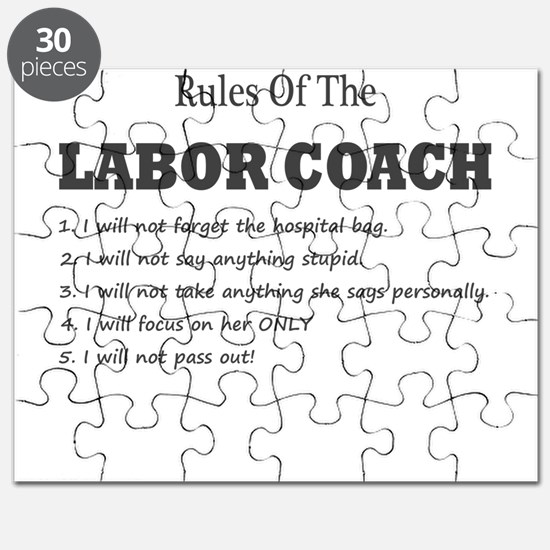 Rules of the Labor Coach Puzzle