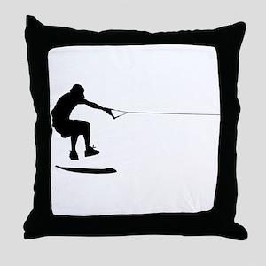WakeSkate Throw Pillow