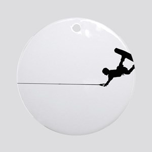 Wakeboard Railey Ornament (Round)
