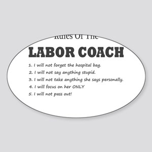 Rules of the Labor Coach Sticker