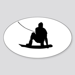Wakeboard Air Method Grab Sticker (Oval)