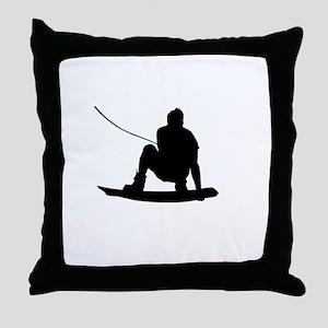 Wakeboard Air Method Grab Throw Pillow