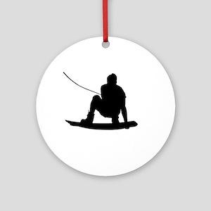 Wakeboard Air Method Grab Ornament (Round)