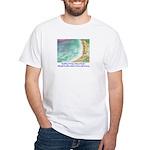 North Beach, Pt. Reyes, CA White T-Shirt