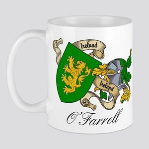 O'Farrell Family Coat of Arms Mug