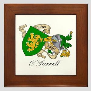 O'Farrell Family Coat of Arms Framed Tile