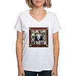 Meet The SweatDogs Women's V-Neck T-Shirt