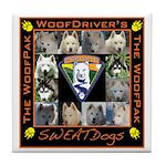 Meet The SweatDogs Tile Coaster