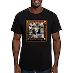 Meet The SweatDogs Men's Fitted T-Shirt (dark)