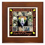 Meet The SweatDogs Framed Tile