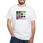Chrisfabbri Digital Retro T-Shirt