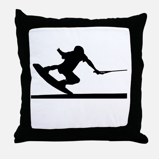 Funny Board Throw Pillow