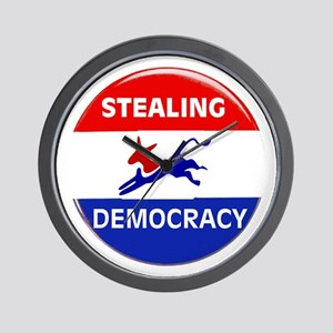 EXTINGUISH DEMOCRATS Wall Clock