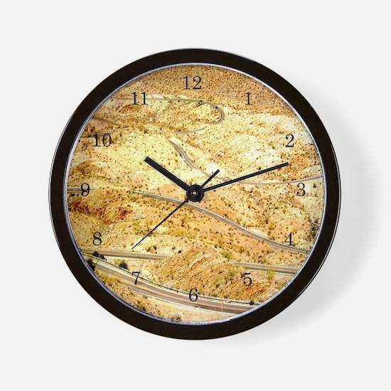 Funny Knee drag Wall Clock