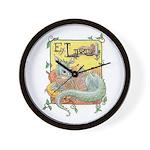 Dragon Reader Wall Clock