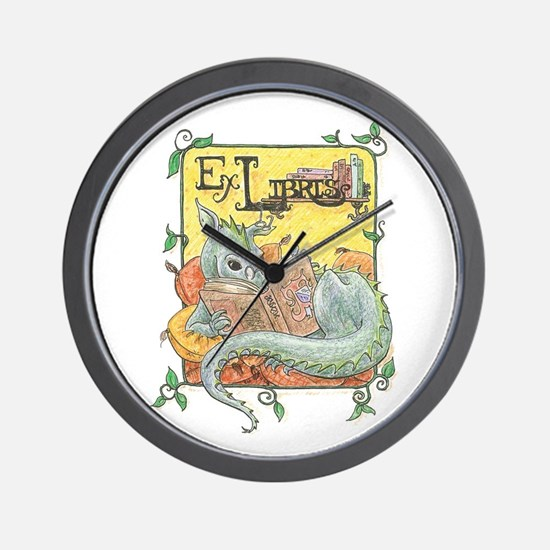 Dragon Reader Wall Clock