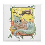 Dragon Reader Tile Coaster