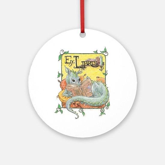 Dragon Reader Ornament (Round)