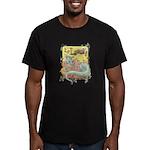 Dragon Reader Men's Fitted T-Shirt (dark)