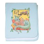Dragon Reader Infant Blanket