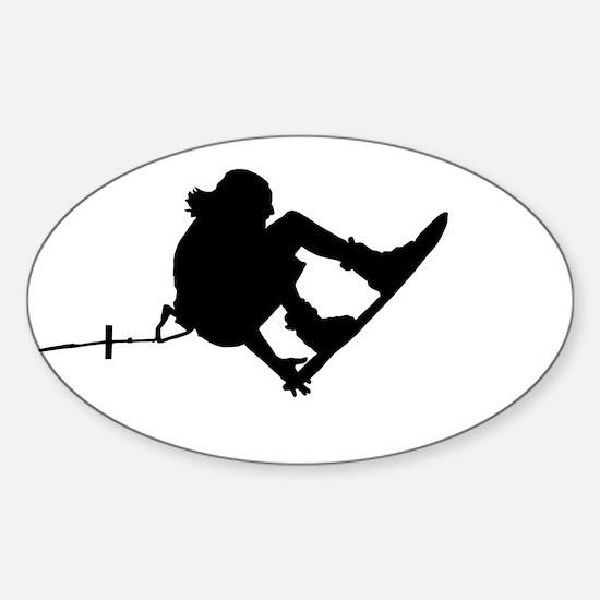 Unique Board Sticker (Oval)