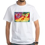 Fruit Watercolor White T-Shirt