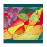 Fruit Watercolor Tile Coaster