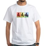 Chris Fabbri Digital Horses T-Shirt