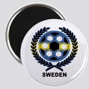 Sweden World Cup Soccer Wreath Magnet