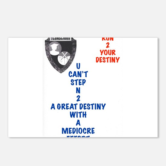 A Great Destiny Postcards (Package of 8)