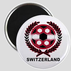 Switzerland World Cup Soccer Wreath Magnet
