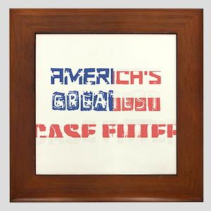 America's Greatest Case Fitter Framed Tile