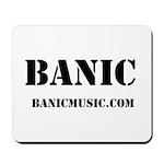 Original BANIC Logo Mousepad
