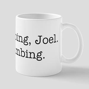 Rock climbing, Joel. Mug