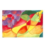 Fruit Watercolor Postcards (Package of 8)