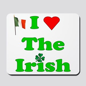I Heart The Irish Mousepad