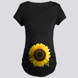 Sunflower Maternity Dark T-Shirt