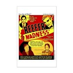 Dude Madness Mini Poster Print