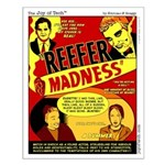 Dude Madness Small Poster