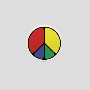 Elegant Peace Color Mini Button