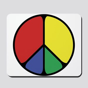 Elegant Peace Color Mousepad