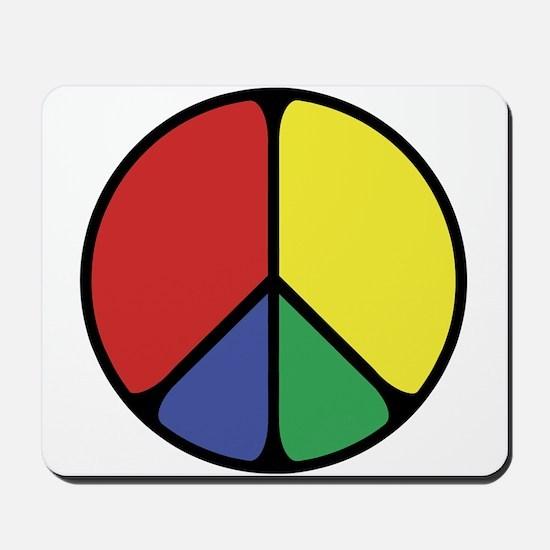 Elegant Peace Color Mousepad