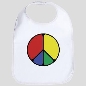 Elegant Peace Color Bib