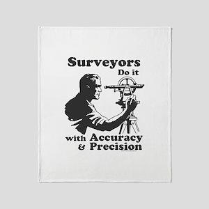 SurveyorsDoIt Throw Blanket