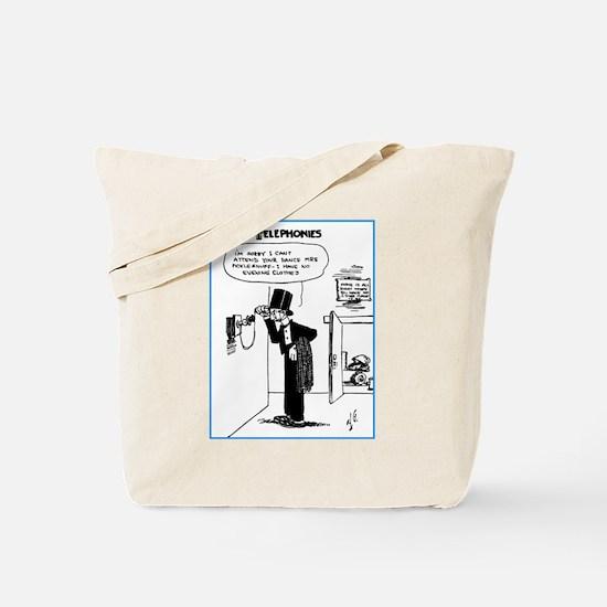 Telephonies 11-01-1911 Tote Bag