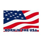 Born in the USA Wall Decal