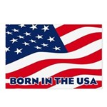 Born in the USA Postcards (Package of 8)