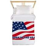 Born in the USA Twin Duvet Cover